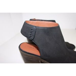 Lucky Brand Shoes - Lucky Brand Odenah Stacked Chunky Open Toe Heel